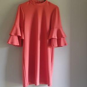 ☆Peachy  Orange Summer Dress